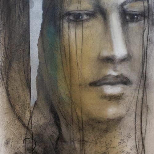 André Desjardins-Nouvelles peintures 2020-Galerie Roccia-Magog