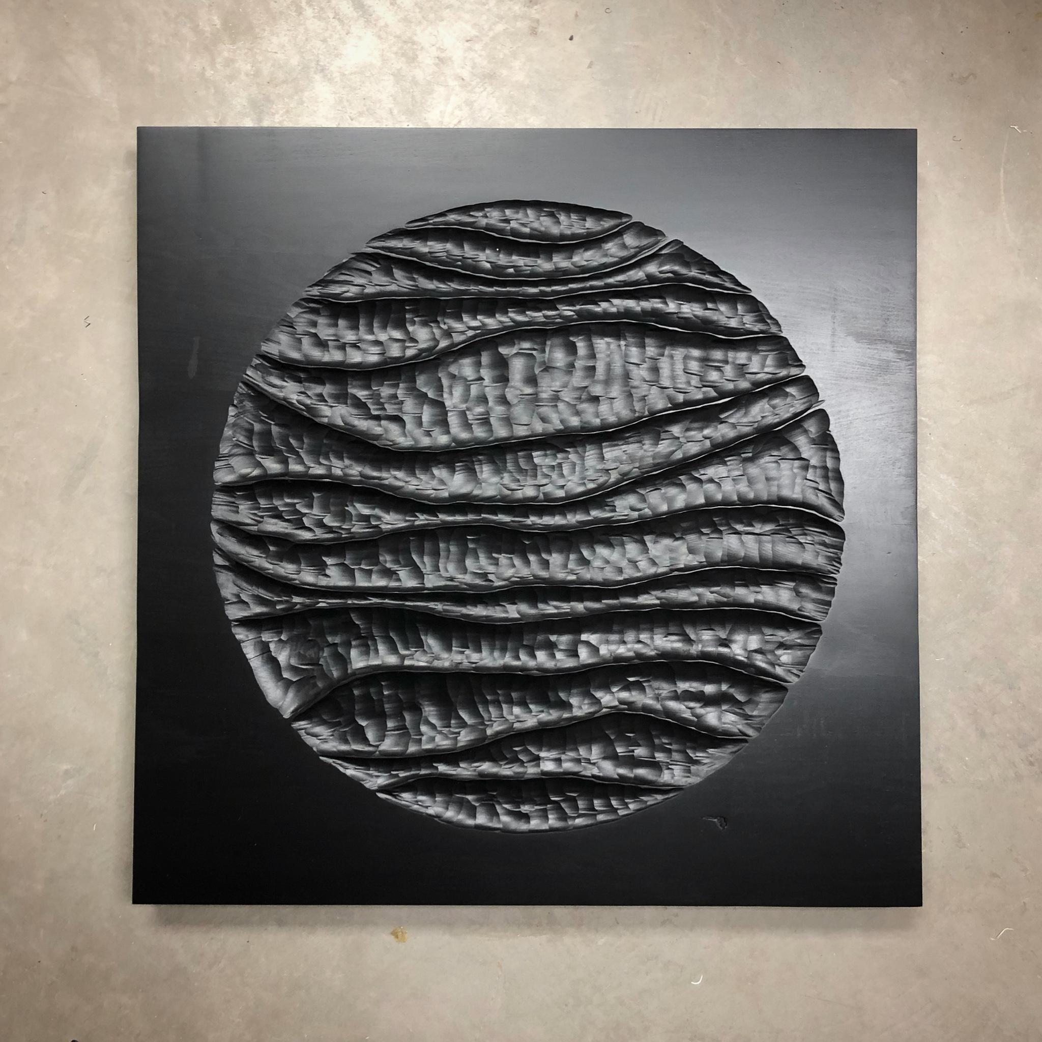 Christian Michaud, Artiste galerie Roccia, sculpture sur bois