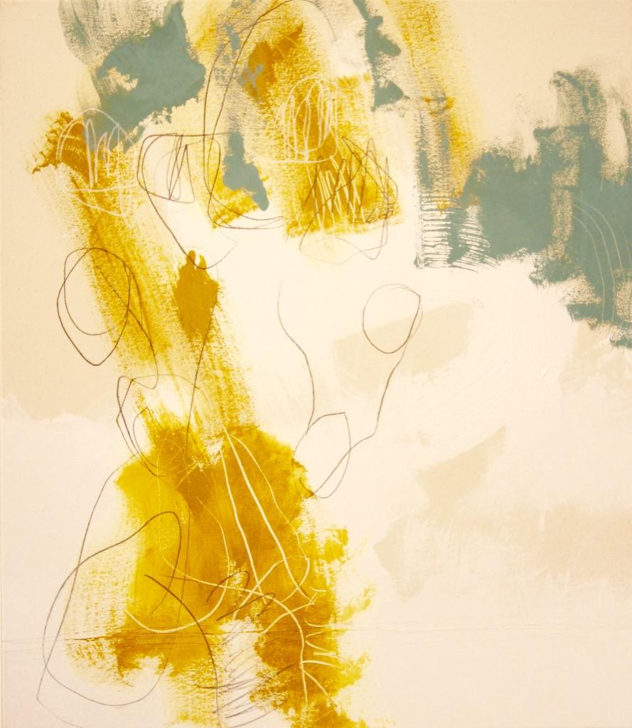 Artist Miville, galerie ROCCIA - mixed media on canvas