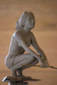 André Desjardins-sculpture-argile-bronze-sculpteur-Galerie Roccia-Magog