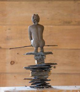 André Desjardins-sculpture-clay-bronze-sculptor-Galerie Roccia-Magog