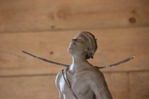 André Desjardins, sculpture, clay, bronze, galerie Roccia, contemporary art