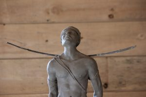 André Desjardins, sculpture, argile, bronze, galerie Roccia, art contemporain