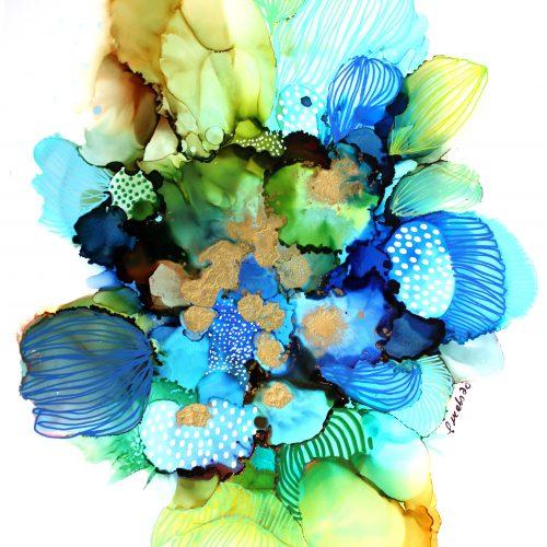 À travers nos peurs, on grandit, Nancy Letourneau - Pixels