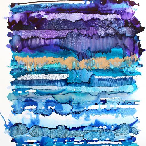 Par le temps, nos sédiments - Nancy Létourneau - Pixels